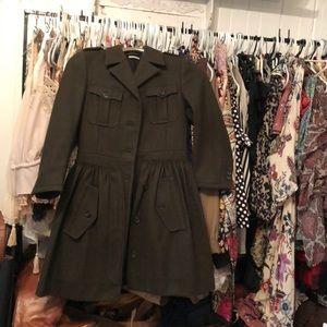 MIU MIU (Prada) military wool coat size 40 / XS